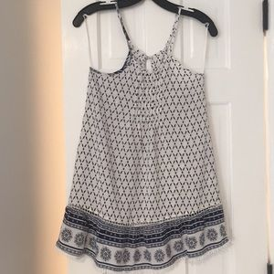 Other - Navy and white summer dress.